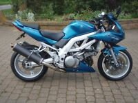 Suzuki SV1000S, 2005, Low miles, Excellent condition for age, Service history, Long MOT