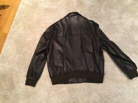 Hugo Boss Gents Leather Jacket