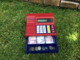 Children's toy cash register