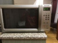 Sharp Microwave - Fantastic condition - Silver