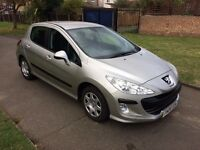 Peugeot 308 1.6 VTi S 5dr, AUTOMATIC, 6 MONTHS FREE WARRANTY, FULL SERVICE HISTORY