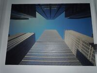 BUILDING & STRUCTURE CANVAS PRINT ''Looking Up''