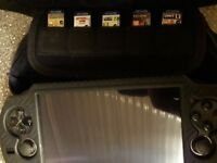 Ps vita great condition 5 games 16gb memory card travel case and protective cove