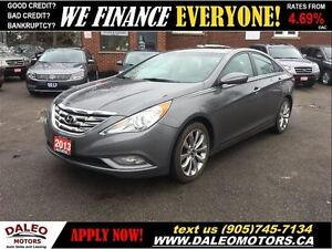 2013 Hyundai Sonata SE LEATHER SEATS SUNROOF