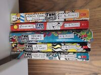 Collection of Tom Gates books for children