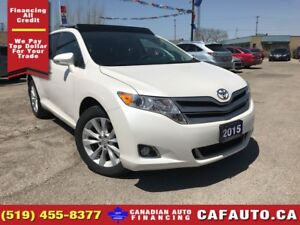 2015 Toyota Venza | ONE OWNER | NAV | ROOF | LEATHER