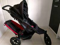 Phil & Ted double buggy with maxi-cosi adaptor