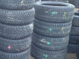 Winter tyres Pirelli 275/45/20-2754520 x2 (pair)from£85 - unit 90 fleet road ig117bg barking