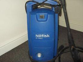 High Power Nilfisk C110 Pressure Washer with 1400 W Motor. £45.00