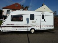 Abbey Freestyle SE 2000 520, 4 berth caravan in very good condition
