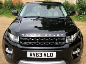 Range Rover Evoque SD4 2.2 Rear 3 Door
