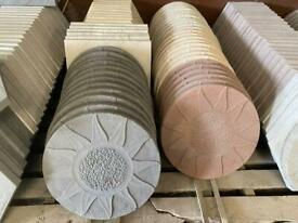 Concrete Sunshine Stepping Stones / Flags > New