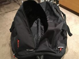 Delsey suitcase / wheeled duffel case - good condition
