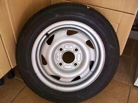 Ford KA wheel/tyre