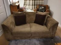 2+3 Seater sofa with Pouffe