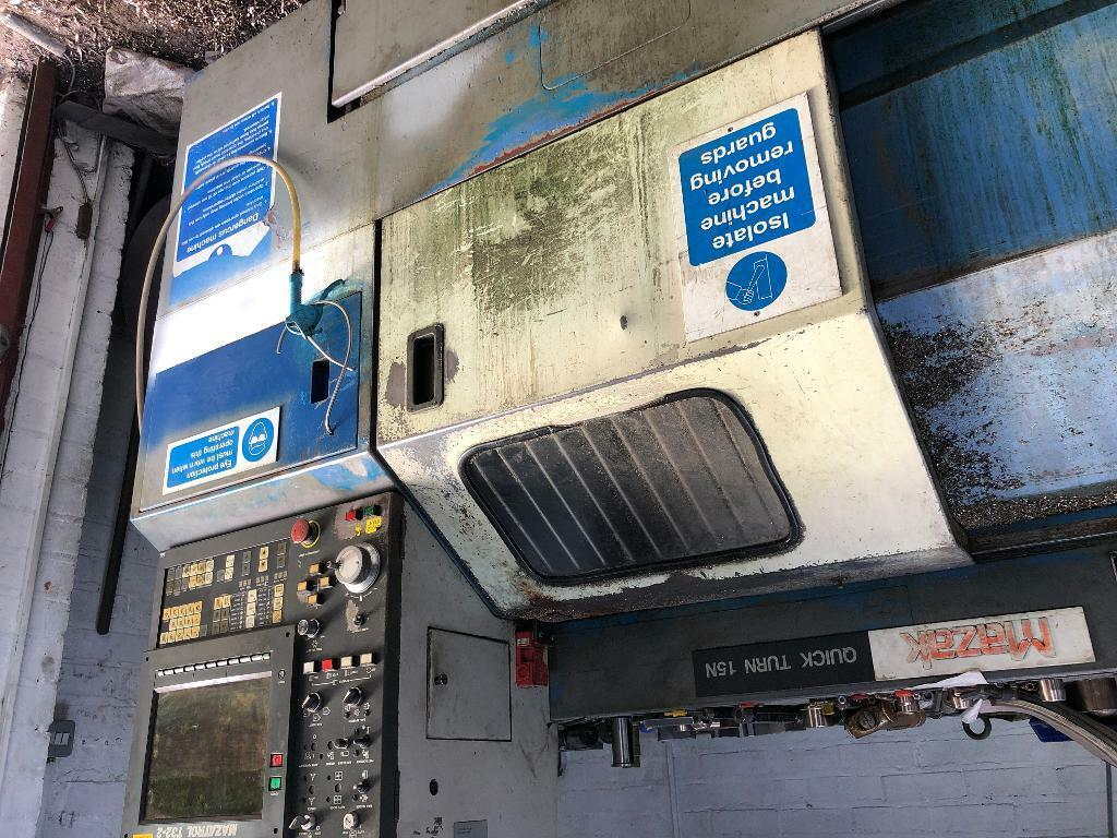 Cnc lathe mazak qt15 for parts not working   in Polesworth, Staffordshire    Gumtree