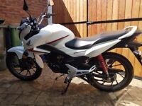 As New Honda CB125F and ALL Accessories to get you on the road straight away