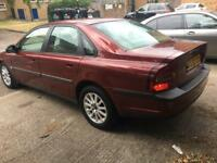 VOLVO S80 AUTOMAIC PETROL MOT 29/04/2019 AIR CONDITIONER CAR START AND DRIVE GOOD TYRES