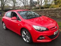 2015 Vauxhall Astra 1.4T Turbo Limited Edition Red Massive Spec Petrol LED's DRL