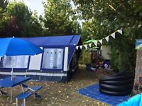 Sunncamp 400SE Trailer Tent with loads of accessories