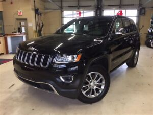 2016 Jeep Grand Cherokee LIMITED*TOIT OUVRANT*CUIR*SIÈGES CHAUFF