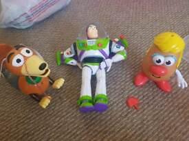 toy story bundle slinky, buzz and Mrs potato head