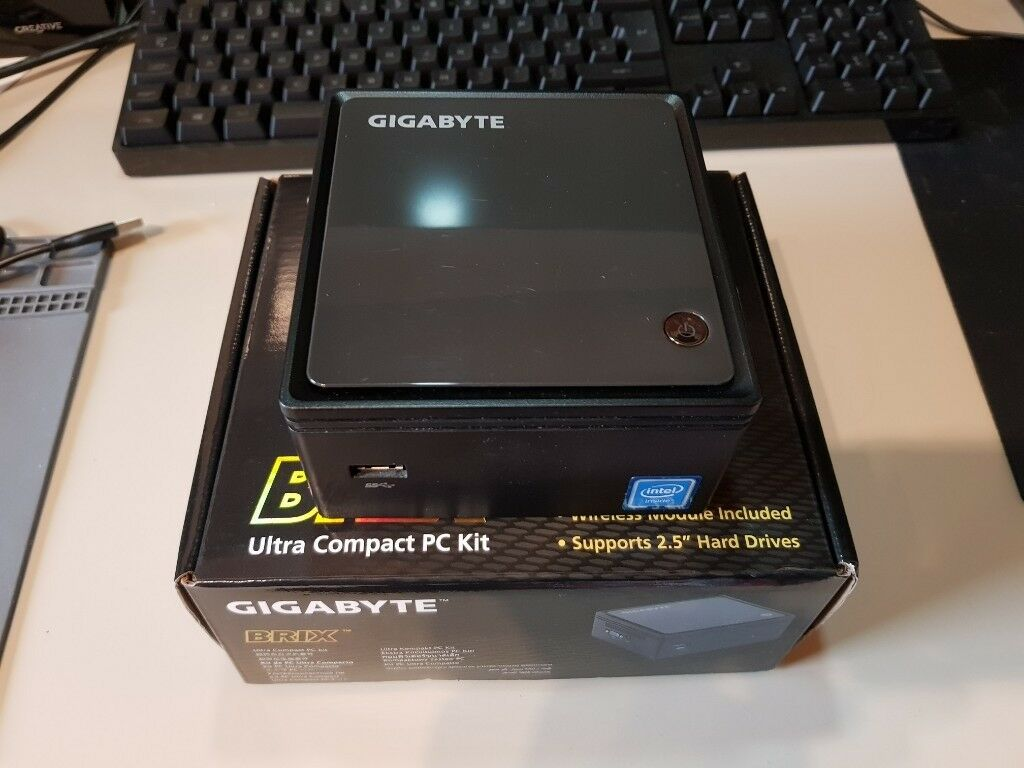 Gigabyte Brix Mini PC Computer, Quad Core, 4GB RAM, 500GB Hard Drive,  Windows 10  | in Pontefract, West Yorkshire | Gumtree