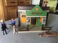 PLAYMOBIL Sheriffs Office vintage