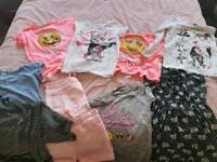 Girls summer clothes bundle age 9 to 10