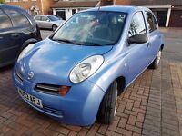 Nissan Micra 2003, 1.2L 12 Months MOT, £800 O.N.O