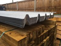 GALVANISED ROOF SHEETS ~ BOX PROFILE ~ NEW 🛠