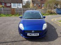 2007 Fiat Grande Punto 1.2 Dynamic 5dr Manual @07445775115 1 Owner+Low Insurance/Road Tax