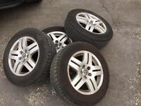 Mk4 Golf alloys plus almost new tyres