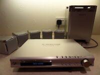 Sony DAV-S550 Multi Region DVD Player, AM/FM Tuner Radio, MP3 Player, Surround Sound Theatre System