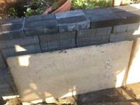 Large garden tiles/ paving
