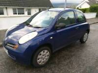 Nissan Micra 53 plate