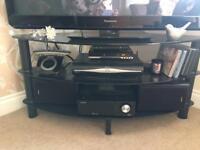 Black Glass TV corner Unit £25 ONO