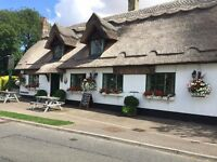Part Time Bar Staff & Kitchen Porter Required for busy village pub near Cambourne