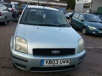 FORD FUSION 1.4 10 MONTHS MOT SERVICE HISTORY