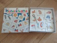 PICTURE LOTTO - game for toddlers / young children - FABULOUS & COMPLETE