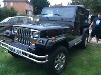 JEEP WRANGLER YJ LOVELY CONDITION, LOTS OF MONEY SPENT ON IT, MUST BEE SEEN!!!!
