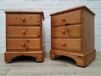 Pair Of Ducal Victoria Bedside Cabinets (DELIVERY AVAILABLE)