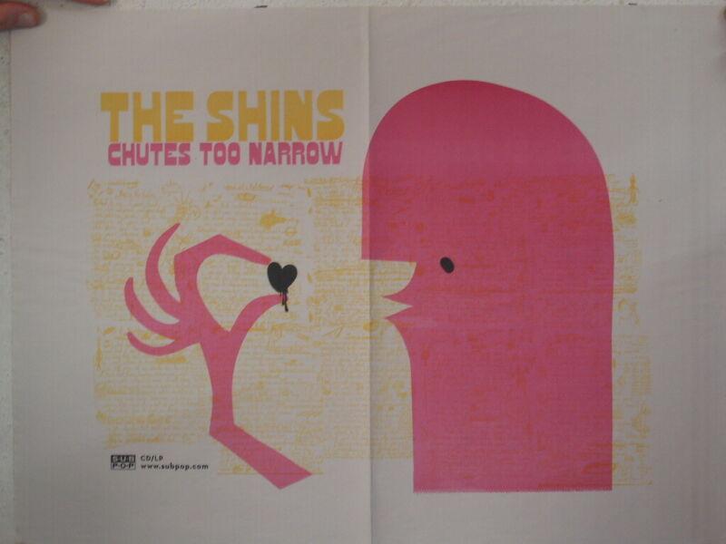 The Shins Poster Promo Chutes Too Narrow 17x23