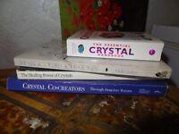 4 Crystal books