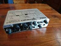 Roland Cakewalk USB audio capture interface