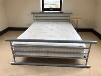 Jay-Be Metal Double Bed Frame Bed