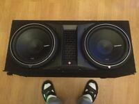 "10"" 12"" 15"" SUBWOOFERS MONOBLOCK 2/4-CHANNEL CAR SUBS AMPLIFIERS WIRING KITS CAR AUDIO FOR SALE ???"
