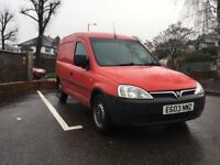 Vauxhall combo, ex Royal Mail