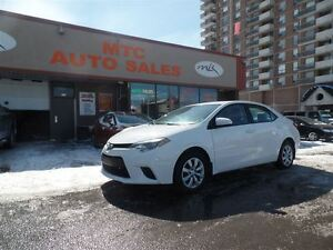 2014 Toyota Corolla LE, BACKUP CAM, GREAT ON FUEL