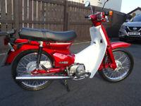 Honda, C90, 2001, 85 (cc) Only 1585 miles.